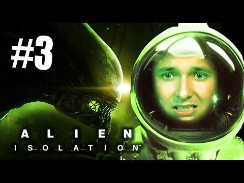 ОН РЯДОМ - МНЕ СТРАШНО! [Alien: Isolation #3]