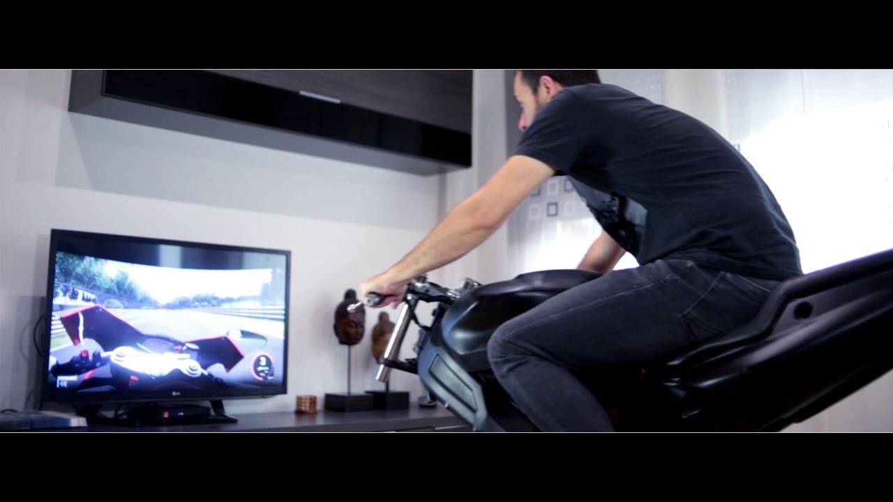 LeanGP — мотосимулятор для вашей гостиной