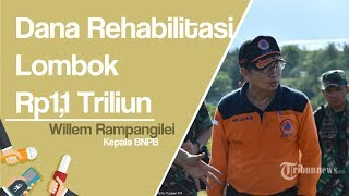 Dana Rp1,1 Triliun untuk Rehabilitasi Lombok
