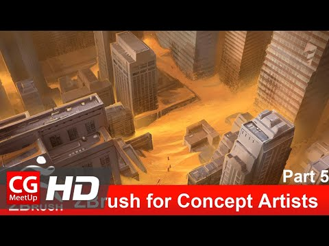 Zbrush Tutorial: ZBrush for Concept Artists – Part 5