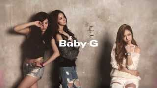"""Baby-G x Girls Generation """"Be Tough, Be Cool, Baby-G"""""""