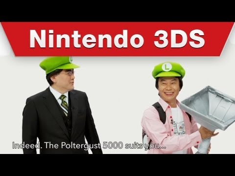 Nintendo's Top Brass Blend Cosplay With Product Announcement
