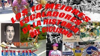 Los 10 Mejores Escaladores Del Ciclismo