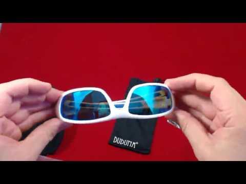 6aff310b73 Bonitas gafas blancas, Duduma Gafas de Sol Deportivas Polarizadas Para  Hombre Perfectas
