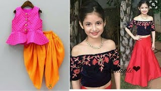 Indian Dresses For Girls Kids// Party Wear Traditional Dresses // Ethnic Wear 2017