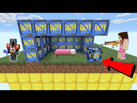 , title : 'Minecraft: FORTNITE LUCKY BLOCK BEDWARS! - Modded Mini-Game'