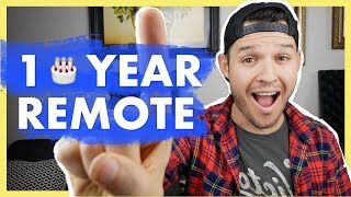 One Year Working Remote