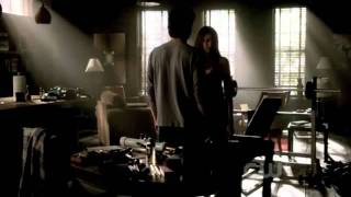 TVD 3x06 - Damon and Elena Scenes Part 1