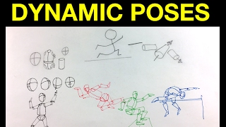 Simple Tips On Drawing & Sketching The Figure In Dynamic Poses