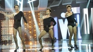 David Bustamante, Manel y Arturo bailan el Single Ladies de Beyoncé en Los Viernes al Show