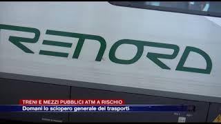 Etg - Domani Lo Sciopero Generale Dei Trasporti: Treni E Mezzi Pubblici Atm A Rischio