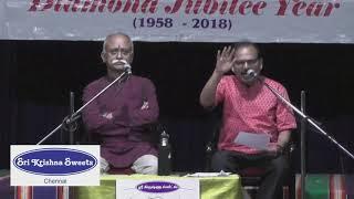 Chennai Sri Krishna Sweets | Kalangalil Avan Vasantham | Isaikkavi Ramanan  l December 2018
