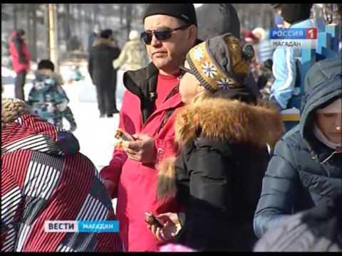 Видео: Видео горнолыжного курорта Снегорка в Магаданская область