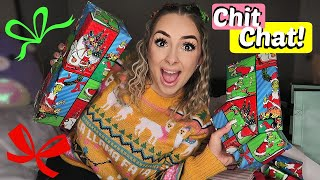 Wrapping Christmas Presents + Everything I got for everyone!! by Piink Sparkles
