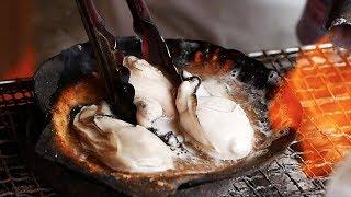 日本路邊小吃-北海道牡蠣,螃蟹,羊肉,生魚片,火鍋,甜瓜