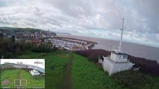 FPV battered by wind testing new camera (hero session 5 + ND filter + DVR