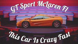 GT Sport McLaren F1 Gameplay! Crazy Fast 889hp!