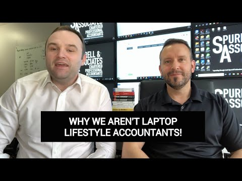 Why We Aren't Laptop Lifestyle Accountants
