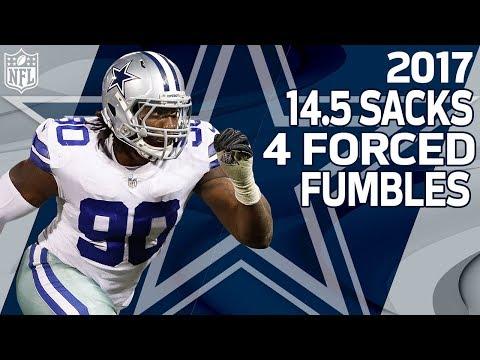 DeMarcus Lawrence's 2017 Season Highlights    NFL
