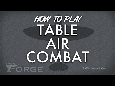 Table Air Combat Instructions