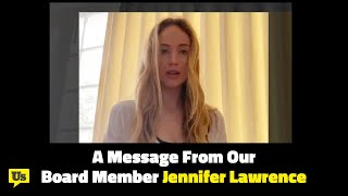 Jennifer Lawrence: We Need Vote at Home During COVID-19