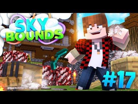 EPIC QUARTZ ORESEED FARM! | SKYBOUNDS ISLAND #17 (Minecraft SkyBlock SMP)