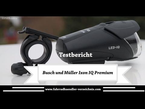 B&M IXON IQ Premium Fahrradlicht LED - Fahrradlampe - Test - Review