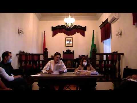 PLENO 8 OCTUBRE 2020 (1º PARTE) AYUNTAMIENTO DE CORTES DE LA FRONTERA