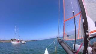 preview picture of video 'Voile cata spitfire 2014'