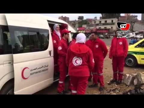مسعف بـ«الهلال الأحمر» في المطرية: الدنيا هادية من أول اليوم
