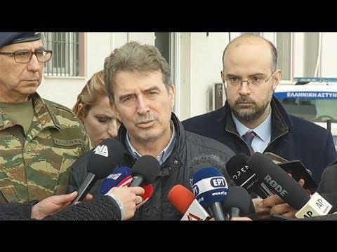 Μ. Χρυσοχοΐδης: «Η Ελλάδα έχει σύνορα, η Ευρώπη έχει σύνορα και τα σύνορα οι Έλληνες τα φυλάμε»