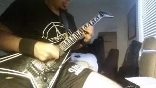 """Exodus """"Deliver Us To Evil"""" Guitar Cover"""