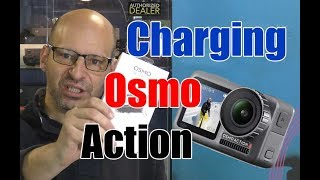 How to Charge DJI Osmo Action Camera Quick Setup Tutorial