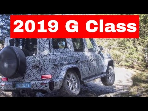 LEAKED! How 2019 G Class Mercedes Is Boosting Its Off Road Prowess