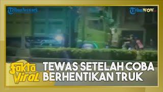 Fakta Viral: Video Bocah 14 Tahun Tewas saat Coba Setop Truk di Tengah Jalan, Sopir Diamankan Polisi