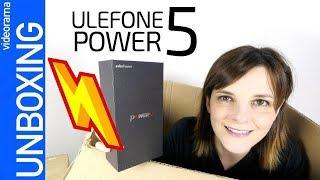 Ulefone Power 5 -SUPER potencia con 13.000 mAh de batería