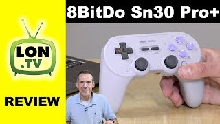 8Bitdo Sn30 Pro+ Bluetooth Gamepad Review - Lag testing, config software, and more