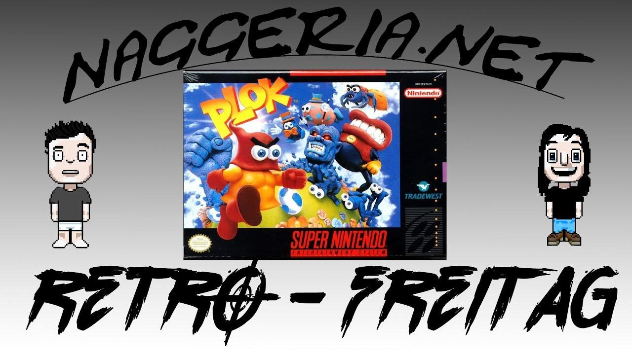 [Retro-Freitag] PLOK (Super Nintendo)