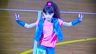 Ксения Коновалова ☀ Waacking Mini Solo Girls FINAL ☀ Ukraine Modern Dance Championship