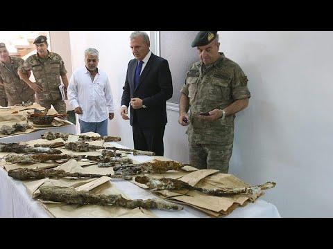 Κύπρος: Παραδόθηκαν στρατιωτικά ευρήματα και εξοπλισμός του ΝΟΡΑΤΛΑΣ…