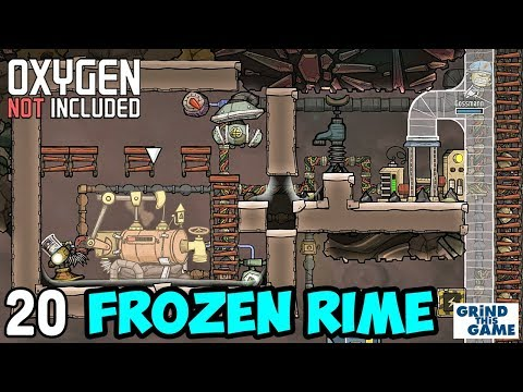 OIL WELL on RIME #20 - Oxygen Not Included (Launch Upgrade) [4k]