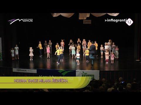 Hodina tance Milana Řezníčka