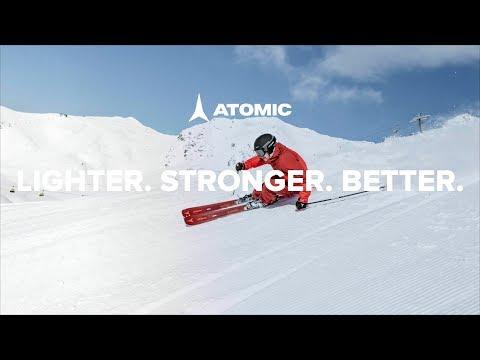 Смотреть видео Горные лыжи Atomic Vantage 90 Ti 18/19