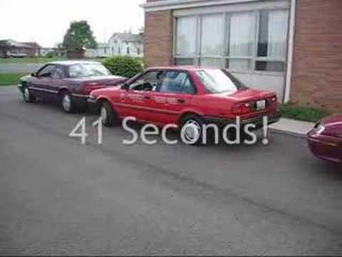 Urządzenie do parkowania równoległego