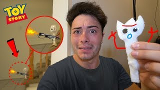 DO NOT MAKE FORKY VOODOO DOLL AT 3AM!! (FORKY TURNS EVIL!!)