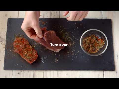 How to prepare a BBQ dry rub
