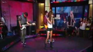 "Ashley Tisdale ""Masquerade"" LIVE In Good Morning America"