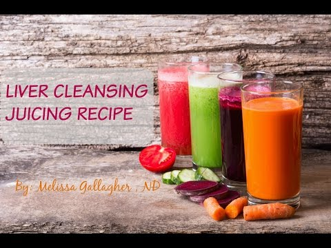 Video How to Juice The Best Liver Cleansing Detox Green Juice Recipe