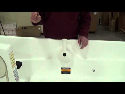 Encore Pedal boat - Draining Water