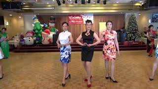 Qipao Show 旗袍時裝秀 - Colours of Dance Xmas Party 2017